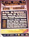 Tourposter: Frequency Festival